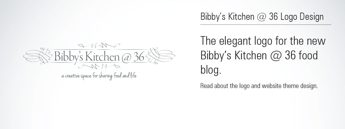 Bibby's Kitchen @ 36 Logo Design