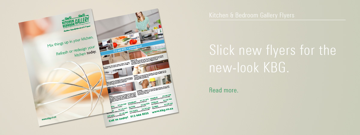 Kitchen & Bedroom Gallery Flyers