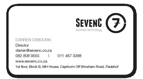 Sevenc card