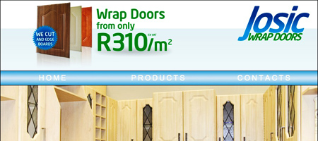 Josic Wrap Doors Website