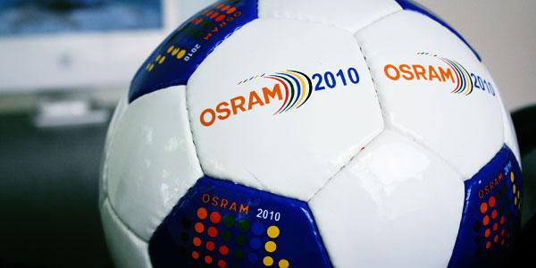 OSRAM2010 Soccer Ball