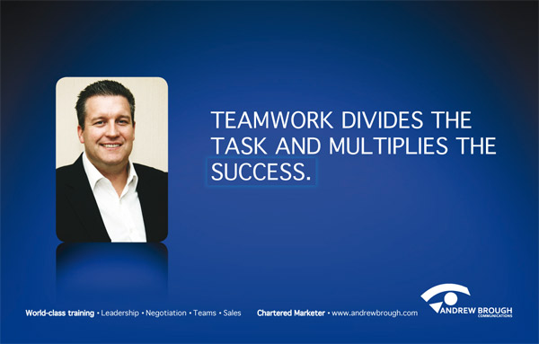 Andrew Brough Communications Teamwork