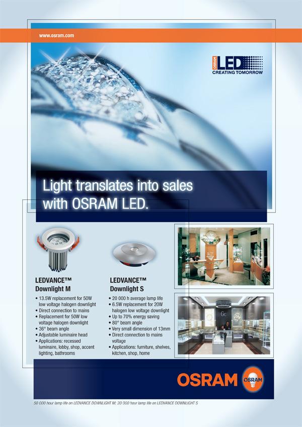 SA Jewellery News Advert for June 2011