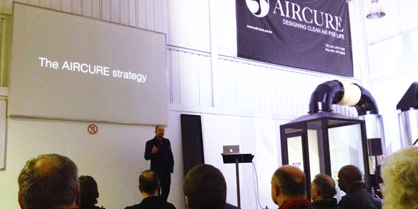 AIRCURE Launch